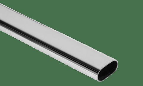 Труба плоскоовальная